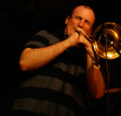 Westbrook Johnson (trombone/melodica/electronics)
